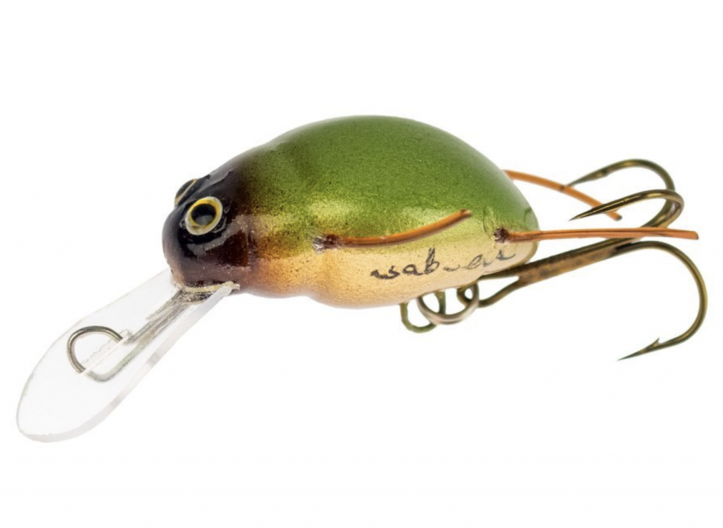 WOB-ART LURES GOLDEN GROUND BEETLE
