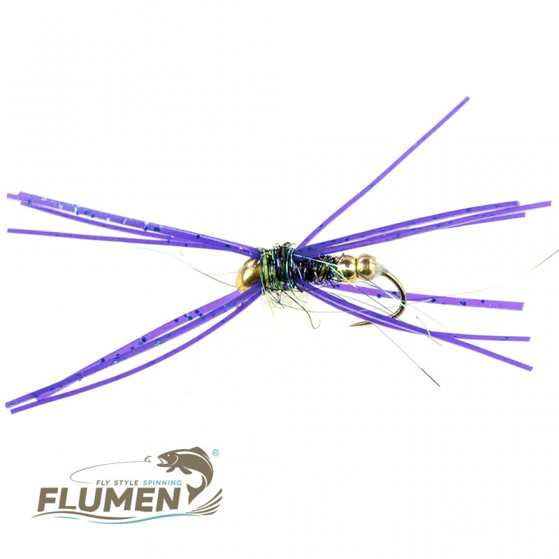 FLUMEN JIG NYMPH MR. PURPLE