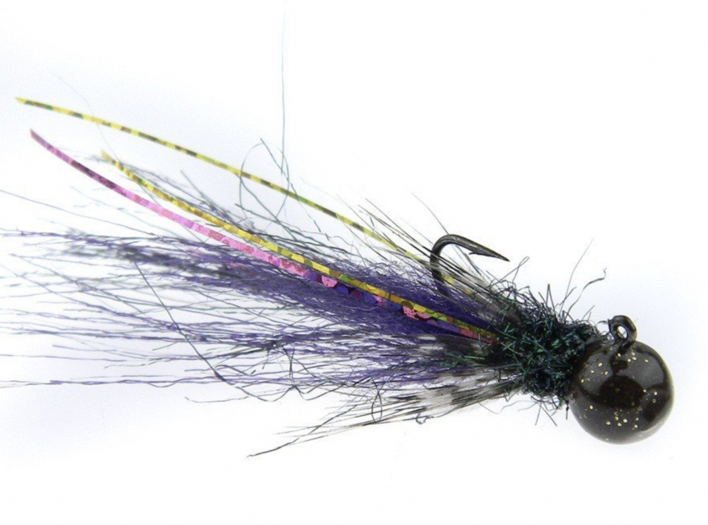 KN KRYSTIAN NIEMY  MICRO JIG  BLACK & PURPLE TAIL