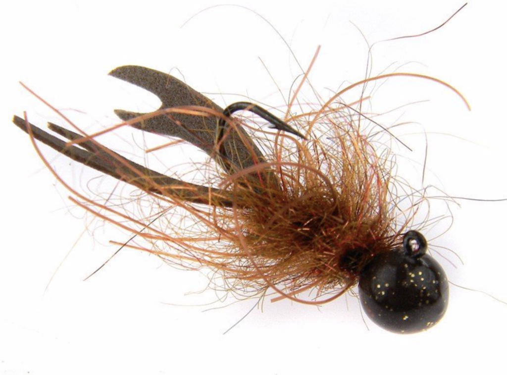 KN KRYSTIAN NIEMY  MICRO JIG  BROWN CRAWFISH