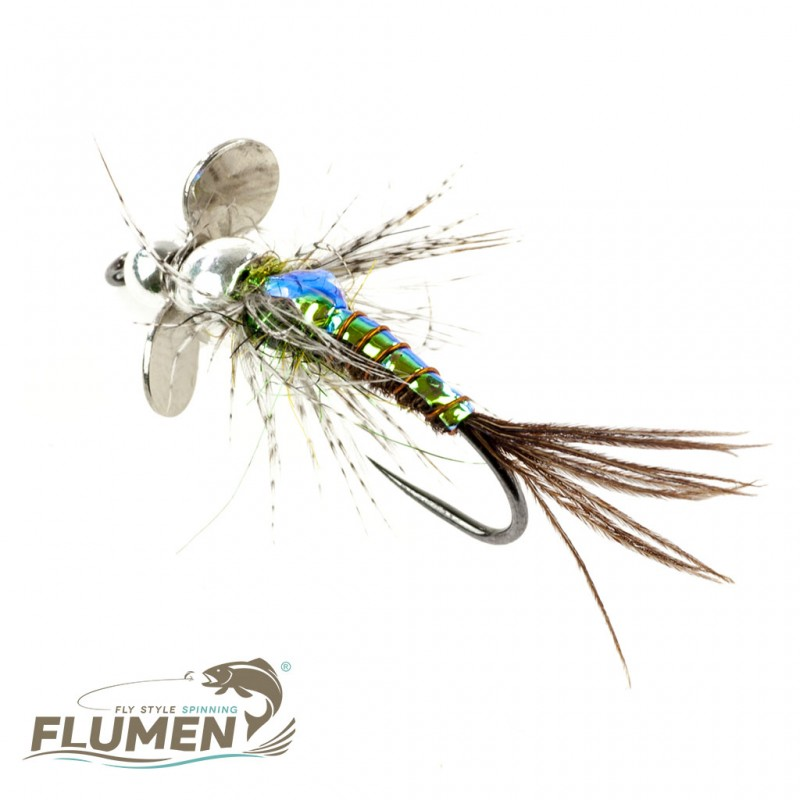 FLUMEN SPINNYMPH COMPETITION SILVER RAINBOW