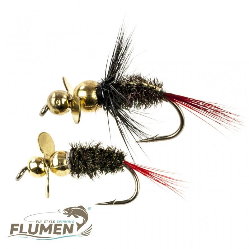 FLUMEN SPINNYMPH GOLDY